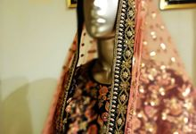 Indian Bridal Wear - LEHENGA / FLOOR GOWN by Vrijvan