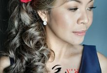 Hair Styled By ANNE VIRAY by Makeup By Anne Viray