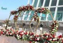 The Wedding Of Fernando & Christin 19.09.2020 by Bali Bless Florist