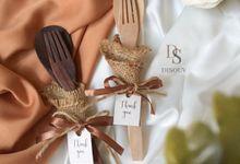 Wooden Cutlery by Disouv Souvenir