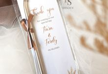 Tiara & Ferdy Wedding by Disouv Souvenir
