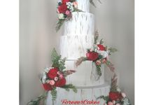Rustic Wedding Cake by FOREVER CAKE