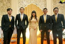 THE WEDDING OF TRIAS & SABRINA by TAMAN MUSIC ENTERTAINMENT