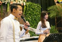 THE WEDDING OF RAMDHAN & MAYA by TAMAN MUSIC ENTERTAINMENT