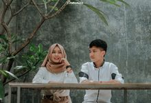 Prewedding Putri & Hannar by Domencia Photography