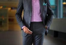 Suits with stripes by Perfect Attire