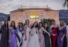FairyTale Wedding on the French Riviera - Villa Ephrussi Rotschild by Chromata Films