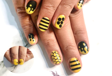 Sample nail art by Pixie Dust Nail