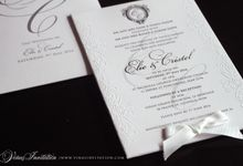 ELIE AND CRISTEL by Vinas Invitation