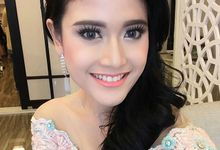 Beautiful Makeup & Hairdo for Indonesian Pageants by Natcha Makeup Studio