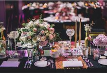 Black & Gold by Jovita Lo Weddings