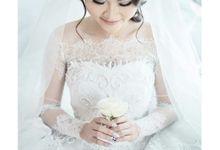 The wedding of Christ & Novita by Yumi Katsura Signature