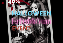 Halloween For Bride And Groom by The Samasta