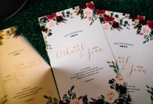 Wedding Collaterals by POPfolio