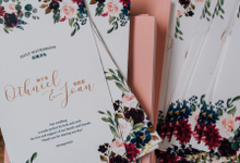 Wedding Collaterals by POPfolio