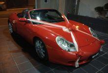 Porsche Wedding Car by Hyperlux Dolce Vita Sdn Bhd