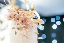 The Wedding of Viki + Stefani by K.pastries