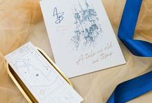 Wedding Invitation - Disney Beauty and the Beast by Kanoo Paper & Gift