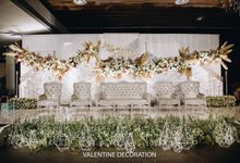 Rivaldy & Naomi Wedding Decoration by Valentine Wedding Decoration