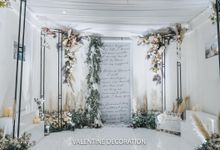 Yuri & Jessica Wedding Decoration by Valentine Wedding Decoration