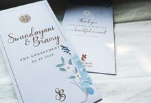 Bramy & Swandayani Engagement Custom Hongbao by Sweet Memoire