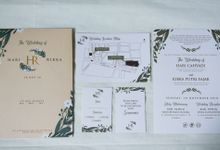 Hari & Ribka Wedding Invitation by Sweet Memoire