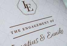 Ignatius & Eunike Engagement Invitation by Sweet Memoire