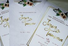 Jasen & Lina Engagement Invitation by Sweet Memoire