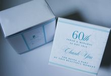 Ishak & Minarni 60th Wedding Anniversary Souvenir Packaging by Sweet Memoire