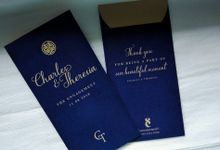 Charles & Theresia Engagement Custom Hongbao by Sweet Memoire