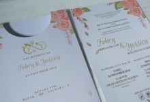 Febry & Yessica Wedding Invitation by Sweet Memoire