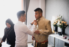 The wedding of Reny and Hario by Portray