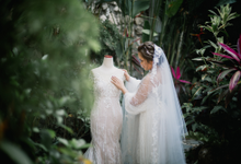 The wedding of Prischilia and Radithya by Portray