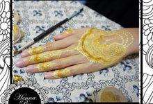 Gold Henna By Nadia Endika by Henna By Nadia