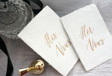 Wedding Stationery by Hummingbird Studio