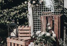 Rustic Wedding of Adila and Tovan by Elior Design