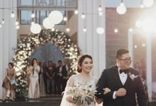 Simple and Elegant Wedding of Abraham and Carin by Elior Design