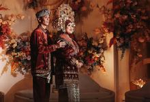 Wedding Della & Abi by KAYUMANIS WO