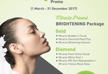 Miracle Prewed BRIGHTENING Package by Miracle Aesthetic Clinic