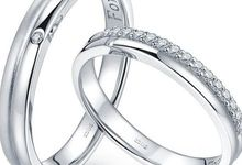 TIARIA Prince & Princess Diamond Wedding Ring Cincin Nikah Berlian by TIARIA