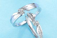 Tiaria Precious Moment Diamond Ring Perhiasan Cincin Pernikahan Emas dan Berlian by TIARIA