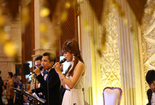 Mina & Rizki at Balai Sudirman by Premiere Entertainment