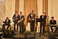 The Wedding Alfin & Hana at Le Meridien  by Premiere Entertainment