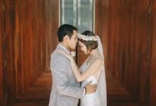 Luigi & Marika Blush Wedding by Marielle Penafiel Photography
