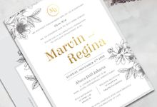 Marvin & Regina by Kiaora Invitation