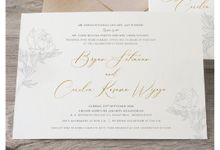 Bryan and Cecilia by Kiaora Invitation