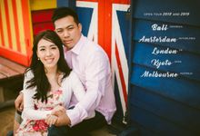 World Tour for 2018 & 2019 for Prewedding & Engagement by Cliff Choong Photography