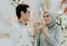 Engagement of Dyandra & Didit by PrideBride Wedding