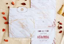 Wedding Invitation of Susanto & Chintya by Prima Card