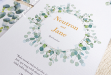 Wedding of Neutron & Jane by Prima Card